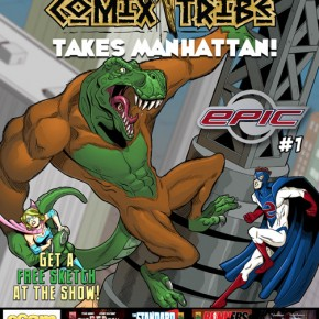 "Download ""ComixTribe Takes Manhattan"" Preview Book!"