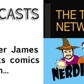 Tyler James on the Comic Book Road Show and Nerd Herders