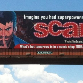 48-Foot Billboard on the Vegas Strip Heralds World-Wide Debut of Joe Mulvey's SCAM