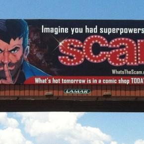 48-Foot Billboard on the Vegas Strip Heralds World-Wide Debut of Joe Mulvey's SCAM
