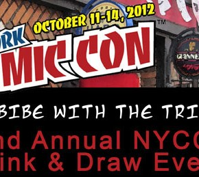 Imbibe With the Tribe! 2nd Annual ComixTribe NYCC Drink & Draw Announced