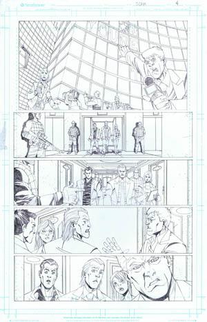 SCAM pencils by Joe Mulvey