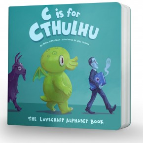 C is for Cthulhu Teaser Trailer…for the Littlest Lovecraft Fan!
